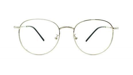 comprar gafas graduadas redondas metal color plata
