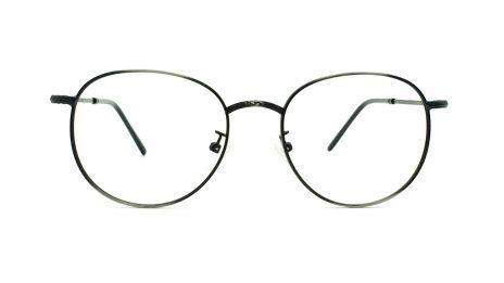gafas graduadas redondas metal plomo