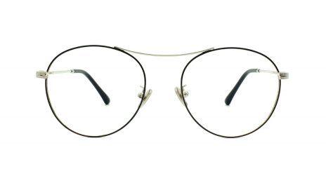 gafas graduadas redondas metal color plata