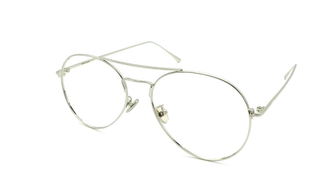 Gafas graduadas aviador color plata