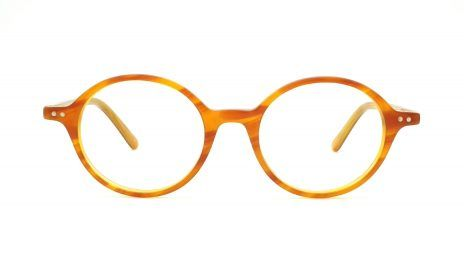 Gafas redondas pasta miel