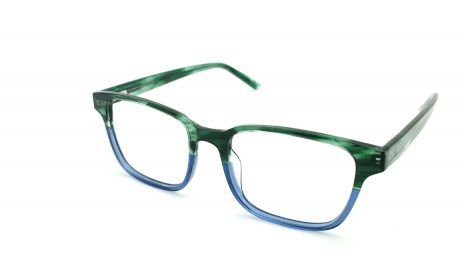 Gafas graduadas unisex online verde y azul
