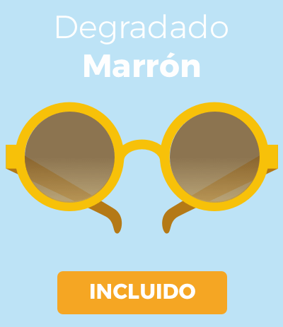 Degradado Marrón