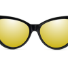 GAFAS DE SOL cat eye espejadas FRENTE