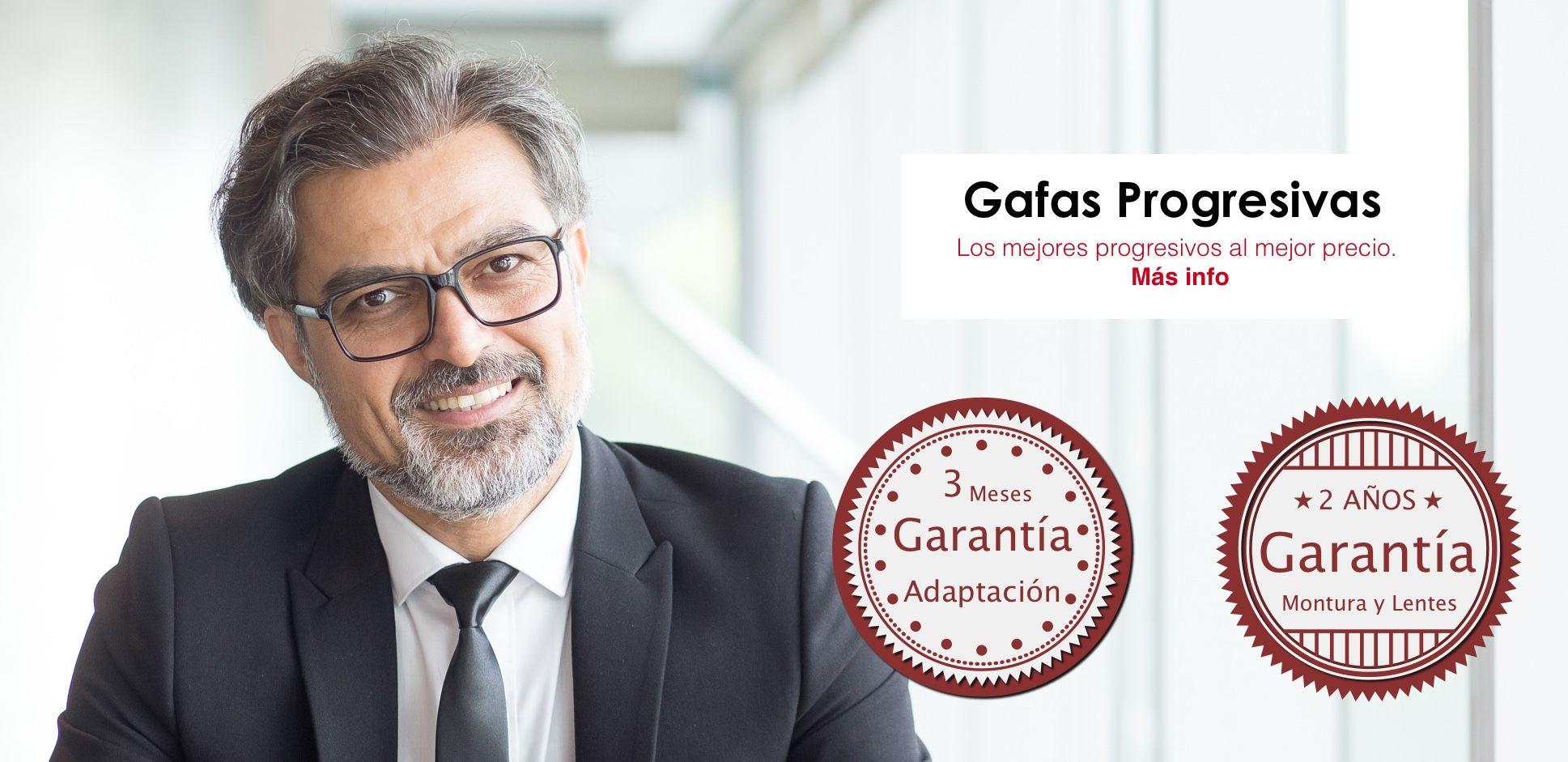 elige auténtico en pies imágenes de diseño superior Gafas Progresivas desde 99€ - Montura + Cristales + Garantía ...