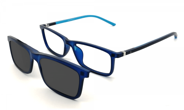 GAFAS CLIP-ON BRUNO AZUL