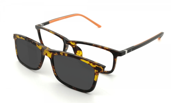 GAFAS CLIP-ON FINAS CAREY BRUNO