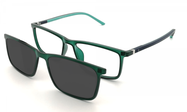 GAFAS CLIP-ON PELAYO GREEN