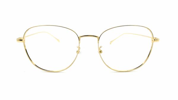 Gafas redondas metal RENÉ GOLD