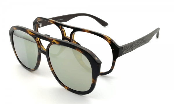 GAFAS CLIP ON DOBLE PUENTE FILIPPO