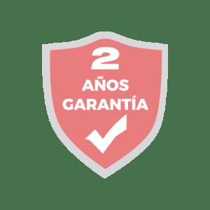 2 AÑOS GARANTÍA